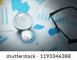business trade stock forecast... | Shutterstock . vector #1193346388