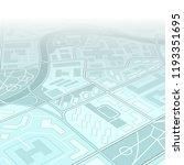 city map navigation  color... | Shutterstock .eps vector #1193351695