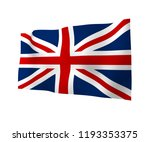 waving flag of the great... | Shutterstock . vector #1193353375