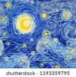 vector seamless pattern of a... | Shutterstock .eps vector #1193359795