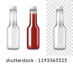 closed glass bottles for... | Shutterstock .eps vector #1193365525