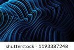 3d abstract background with... | Shutterstock . vector #1193387248