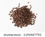 coffee bean isolated | Shutterstock . vector #1193407792