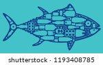 environmental banner plastic... | Shutterstock .eps vector #1193408785