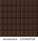 black chocolate bar seamless... | Shutterstock .eps vector #1193420728