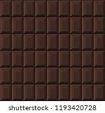 black chocolate bar seamless... | Shutterstock .eps vector #1193420728