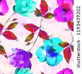 seamless fabric print tecure... | Shutterstock . vector #1193439202