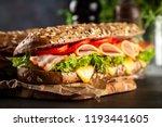 classic blt sandwiches | Shutterstock . vector #1193441605