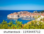 panoramic aerial view of the... | Shutterstock . vector #1193445712