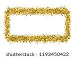 golden frame glitter texture... | Shutterstock .eps vector #1193450422