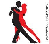 ballroom dance people | Shutterstock .eps vector #1193457892