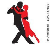 ballroom dance people | Shutterstock .eps vector #1193457898