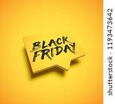 high detailed yellow speech... | Shutterstock .eps vector #1193473642