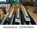 the drills lie on a rack near... | Shutterstock . vector #1193478352