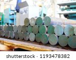 iron billets are in stock and... | Shutterstock . vector #1193478382