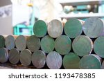 iron billets are in stock and... | Shutterstock . vector #1193478385