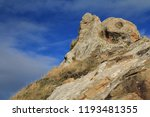rocky outcrops in point reyes... | Shutterstock . vector #1193481355