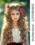 beautiful young girl in ...   Shutterstock . vector #1193484805