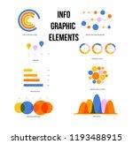 ads report visualisation... | Shutterstock .eps vector #1193488915