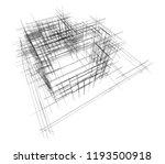 house building sketch... | Shutterstock . vector #1193500918
