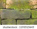 old brick background at... | Shutterstock . vector #1193515645