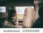 rv camper van travel asian girl ... | Shutterstock . vector #1193522305