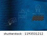 brands working with online... | Shutterstock . vector #1193531212