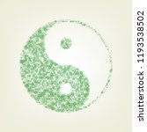 ying yang symbol of harmony and ... | Shutterstock .eps vector #1193538502
