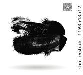 grey  brush stroke and texture. ... | Shutterstock .eps vector #1193543512