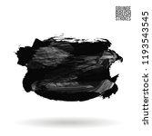 grey  brush stroke and texture. ... | Shutterstock .eps vector #1193543545