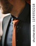 a man in a black suit | Shutterstock . vector #1193552218
