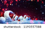 holidays decoration with...   Shutterstock . vector #1193557588