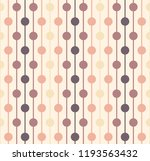 dots linked by lines pattern | Shutterstock .eps vector #1193563432