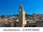 view of salon de provence with...   Shutterstock . vector #1193570062
