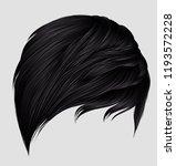trendy woman short  hairs... | Shutterstock .eps vector #1193572228