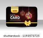 creative festival gift card for ... | Shutterstock .eps vector #1193573725