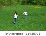 happy kids | Shutterstock . vector #11935771