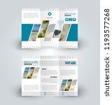 brochure design. creative tri... | Shutterstock .eps vector #1193577268