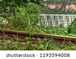 gokteik railway bridge in... | Shutterstock . vector #1193594008
