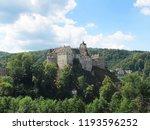loket castle. west bohemia ... | Shutterstock . vector #1193596252