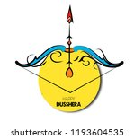 illustration of lord rama... | Shutterstock .eps vector #1193604535