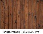 brown board background  natural ... | Shutterstock . vector #1193608495