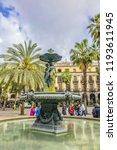 barcelona  spain   april 17 ... | Shutterstock . vector #1193611945