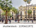 barcelona  spain   april 17 ... | Shutterstock . vector #1193611972