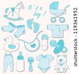 baby shower design elements....