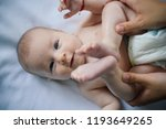 newborn baby. family care of... | Shutterstock . vector #1193649265