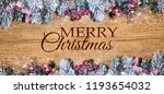 christmas holidays background... | Shutterstock . vector #1193654032