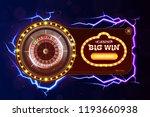 casino poker web banner with... | Shutterstock .eps vector #1193660938