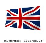 waving flag of the great... | Shutterstock . vector #1193708725