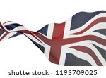 waving flag of the great... | Shutterstock . vector #1193709025